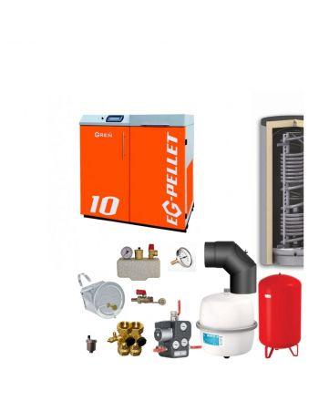 Pelletkessel EKOGREN EG-Pellet 10 kW Bafa gefördert | Komplettset 4