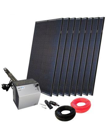 Photovoltaik komplett Set zur Warmwasserbereitung | DC-ELWA | 2400Watt