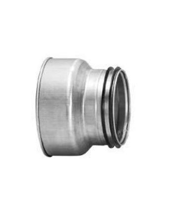 Erweiterung von 80mm < 100mm für Verbrennungsluft Anschluss Termatech