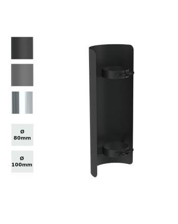 Jeremias | Pelletofenrohr | Strahlungsschutz | Längenelement 500mm