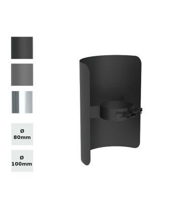 Jeremias | Pelletofenrohr | Strahlungsschutz | Längenelement 250mm