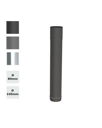 JEREMIAS | Ofenrohr | Schiebeelement | 80-420 mm