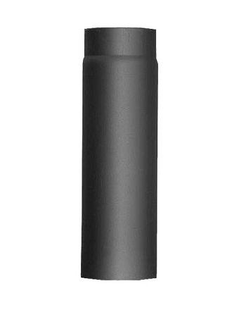Rauchrohr/Ofenrohr/Längenelement kürzbar 330mm Ferro Ø130mm-gussgrau