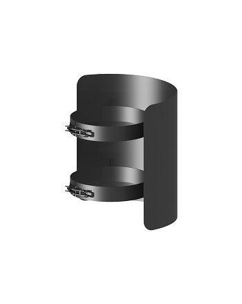 Strahlungschutz FERRO Länge 250mm Ø 130 mm, lackiert gußgrau