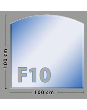 Segmentbogen F10 Funkenschutzplatte aus Sicherheitsglas