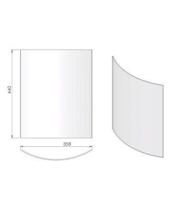 Termatech TT10 Front-Glas
