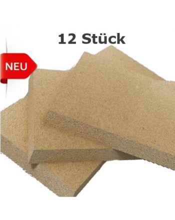 Vermiculite Bauplatten 12 Stück mit Wärmestrahlung1200x600x25mm