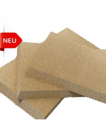 Vermiculite Bauplatte 1 Stück mit Wärmestrahlung1200x600x25mm