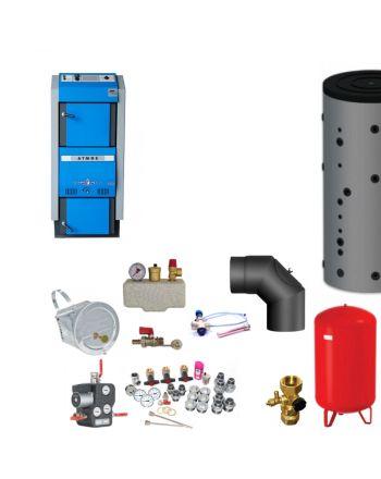 Atmos GSX50 Bafa Scheitholzvergaser | 49 kW | Komplettset 2