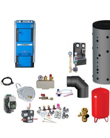 Atmos GSX50 Bafa Scheitholzvergaser | 49 kW | Komplettset 3