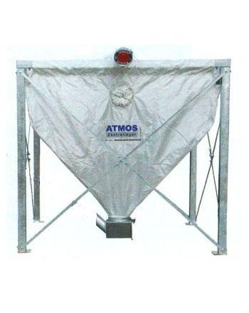 Textilspeicher inkl. Schneckenkasten für Atmossystem