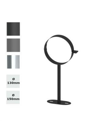 Jeremias Ofenrohr-Wandhalter bis 250 mm   Farbe + Durchmesser wählbar