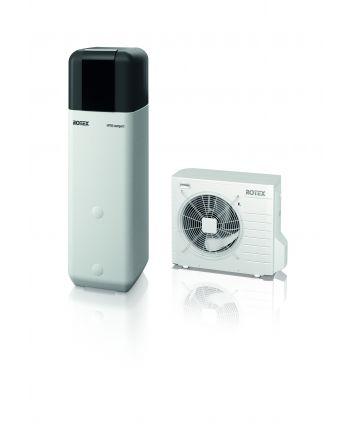 Wärmepumpe Luft/Wasser Rotex HPSU compact 508 H/C-2C Paket 8 kW+500L