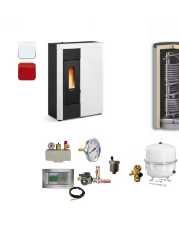 Extraflame Pelletofen Virna Idro | BAFA | Hygieneset | 14,5 kW
