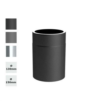 Jeremias Ofenrohr Längenelement 250mm   Ø wählbar   Farbe wählbar