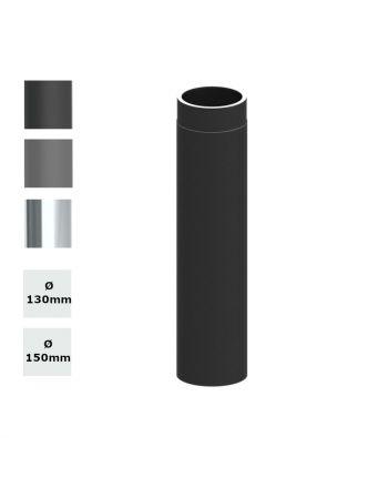 Jeremias Ofenrohr Längenelement 750mm   Ø wählbar   Farbe wählbar