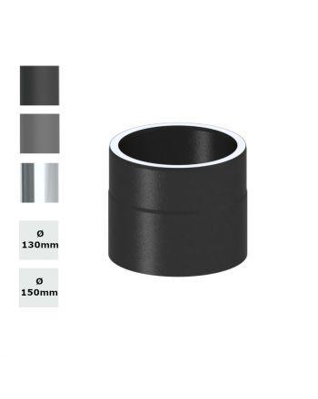 Jeremias Ofenrohr Längenelement 150 mm + Kondensatring  konfigurierbar