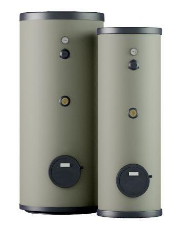 Thermoflux Edelstahl-Solarspeicher bivalent 2 Wärmetauscher 300 Liter
