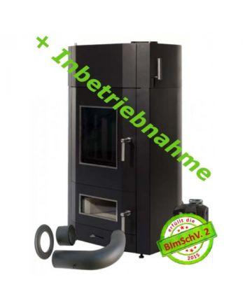 Wasser Holzvergaserofen JUPO Lohengrin Juratherm 18,5 kW Set-1