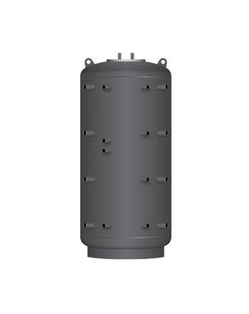 TWL Hygiene-Kombispeicher KER2 1500   2 Wärmetauscher   100°