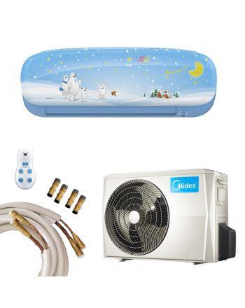 Midea Klimaanlage Kids Star 35 in blau mit 3,5kW und Quick-Connect