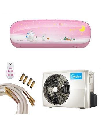 Midea Klimaanlage Kids Star 27 in pink mit 2,6kW und Quick-Connect
