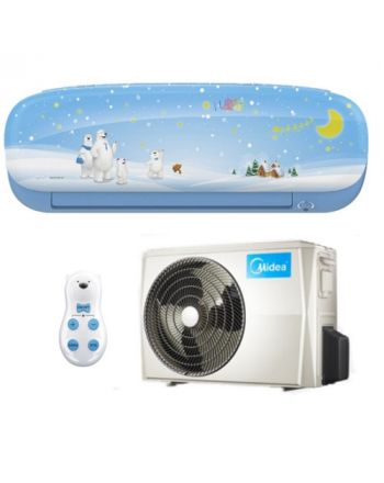 Midea Klimaanlage Kids Star 27 Inverter Wandgerät in blau mit 2,6 kW