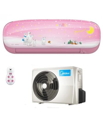 Midea Klimaanlage Kids Star 35 Inverter Wandgerät in pink mit 3,5kW