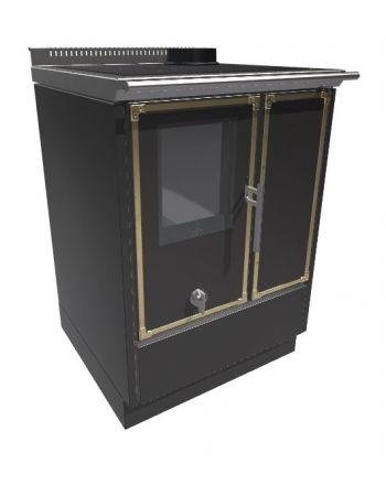 Kitchen Kamin Holzherd KE60W | 6,6 kW