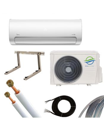 Klimaworld Splitgerät Klimaanlage ECO+ 27 Premium Set 2,6kW