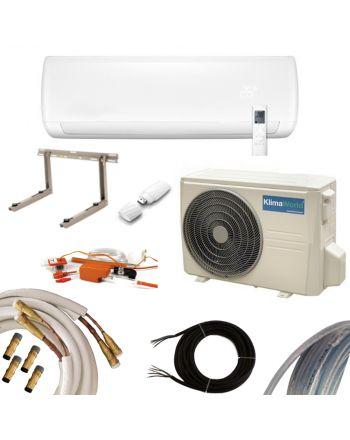 Klimaanlage Inverter Klimaworld Premium Set | 3,5 kW mit Quick Connect