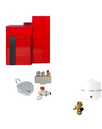 Thermoflux Pelletkessel Pellflux Lambda 12 | BAFA | 12 kW | Komplettset 1
