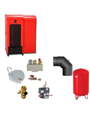Thermoflux Pelletkessel BAFA | TF-PK-ECO-25 25 kW | Komplettset 1
