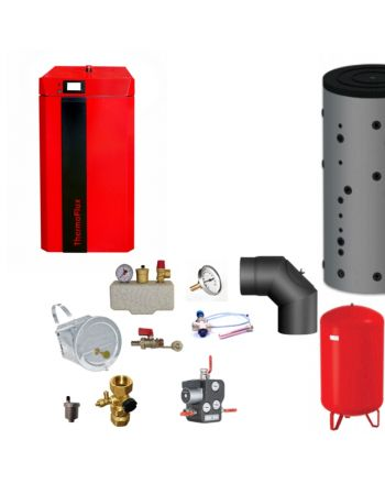 Thermoflux Holzvergaser Pid Logic Lambda Plus BAFA  Komplettset 2 25kW