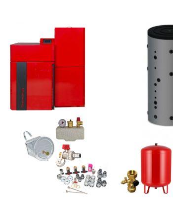 Thermoflux Pelletkessel Pellflux Lambda 24 | BAFA | 24 kW | Komplettset 2