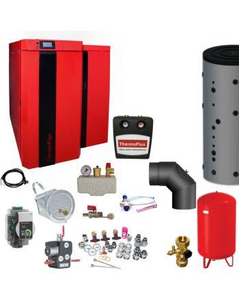 Thermoflux Kombikessel | Bafa | Pid Logic Kombi 25 kW | Komplettset 3