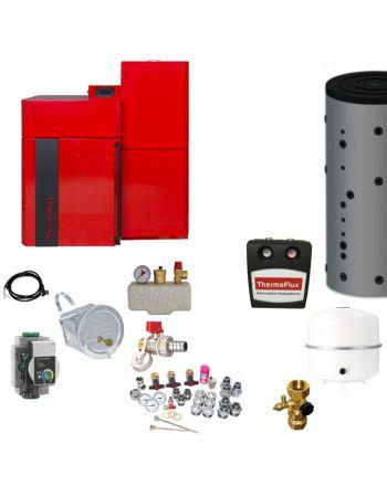 Thermoflux Pelletkessel Pellflux Lambda 12 | BAFA | 12 kW | Komplettset 3