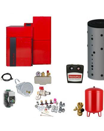 Thermoflux Pelletkessel Pellflux Lambda 48 | BAFA | 48 kW | Komplettset 3