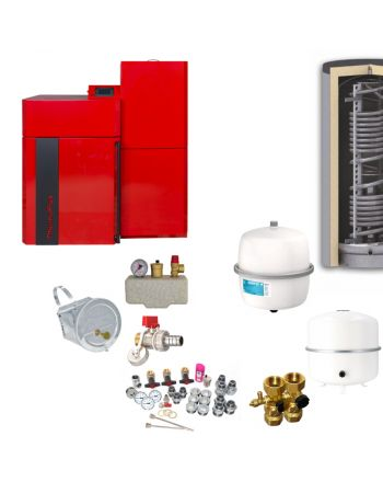 Thermoflux Pelletkessel Pellflux Lambda 12 | BAFA | 12 kW | Komplettset 4