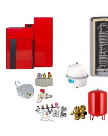 Thermoflux Pelletkessel Pellflux Lambda 48 | BAFA | 48 kW | Komplettset 4