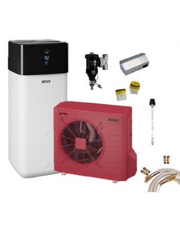 Rotex Luft-Wasser-Wärmepumpen Set* | HPSU compact Ultra 508 Biv | 8 kW