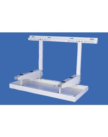 Kondensatwanne Metall für Klimaanlagen oder Wärmepumpen 1100mm