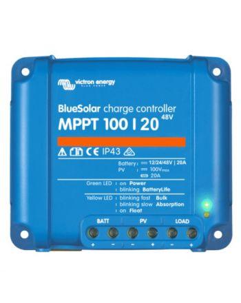 Victron Solar Laderegler | Blue Solar | MPPT 100/20 | 12/24/48V 20A