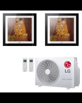 Klimaanlage Komplettset Multisplit LG Artcool Gallery 2x2,5kW
