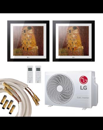 LG Klimaanlage Multisplit 2x LG Gallery 2,5kW Quick-Connect