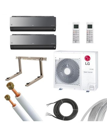LG | MultiSplit | ArtCOOL Energy | 2x 6,6 kW | KL
