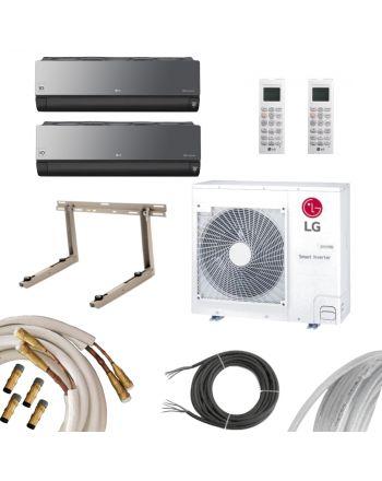 LG | MultiSplit | ArtCOOL Energy | 2x 6,6 kW | QE
