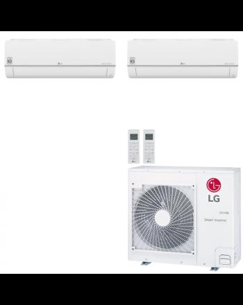 LG Multisplit Klimaanlage Wandgerät oder Deckenkassette 1x3,5+1x6,6kW