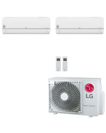 LG Multisplit Klimaanlage Wandgerät oder Deckenkassette 2x1,5kW