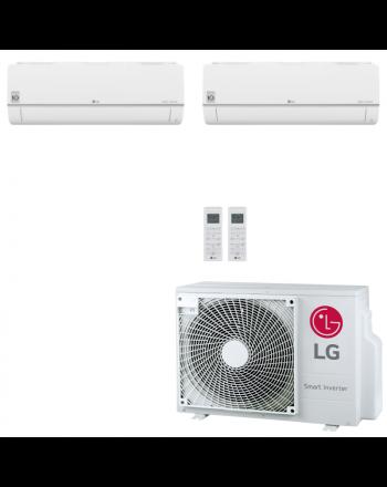 LG Multisplit Klimaanlage Wandgerät oder Deckenkassette 1,5kW + 3,5kW